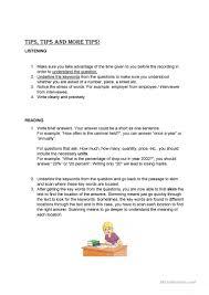 tips for igcse exams worksheet free esl printable worksheets