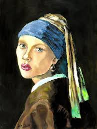 painting girl with pearl earring girl with a pearl earring girl with a pearl earring