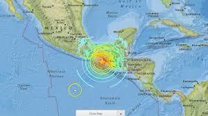 Chiapas Mexico Map M8 1 Earthquake Guatemala Chiapas Pijijiapan Mexico Youtube