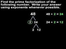 prime factorization mathhelp com math help youtube