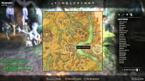 Eso Skyshards Map Deshaan Skyshard Map Eso Deshaan Skyshards The Right Tower Is Tal