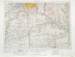 Map Of Western Wisconsin by St Paul Topographic Maps Mn Wi Usgs Topo Quad 44092a1 At 1