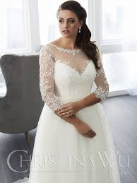 5 illusion necklines for big busted brides find your dream dress