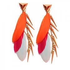 feather earrings online india funky earrings online funky stud fashion earrings cool ear cuffs