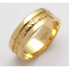 Gold Wedding Rings by 14k Yellow Gold For Mens U0026 Wedding Ring 6mm Best Wedding Products