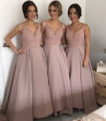 best bridesmaid dresses aliexpress buy best shining rhineston v neck bridesmaid