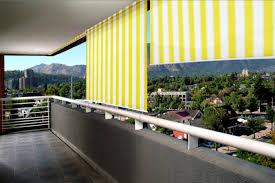 balkon markise ohne bohren außenrollos senkrechtmarkisen für balkon jarolift