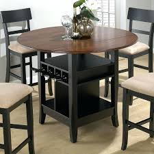 Patio Bar Height Dining Table Set Dining Table Round Bar Height Dining Table Set Black Bar Height