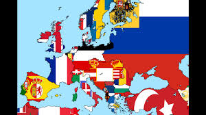 Map Of Europe In 1914 by 1914 Europe Flag Map Speedart Youtube