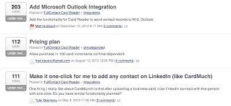 scan a business card and connect on linkedin fullcontact