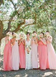 pink bridesmaid dresses best 25 pink bridesmaids ideas on pink bridesmaid