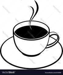 coffee cup sketch royalty free vector image vectorstock