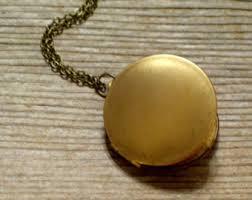 photo locket pendant necklace images Vintage lockets etsy jpg