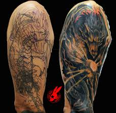 dragon tattoo on arm and shoulder 63 wonderful cover up shoulder tattoos