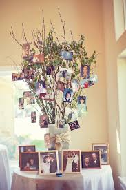 wedding decorations interesting beautiful family tree wedding decoration ideas by
