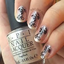 kelsie s nail files winter nail challenge tinsel ornaments