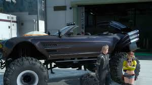 monster truck off road videos final fantasy 15 goes off roading with a monster truck regalia