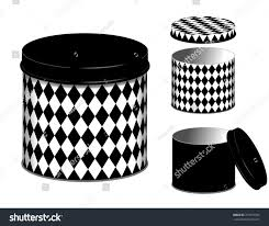 black kitchen canisters canisters three kitchen storage cans lids stock vector 319537925