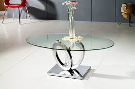 Chrome And Glass Coffee Table Glass Coffee Table Beautiful Addition To Any Contemporary Home