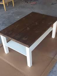 coffee tables appealing ikea lack pine top coffee table hackin