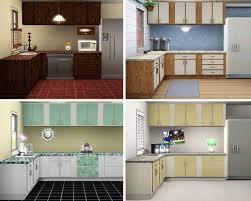 sims 3 kitchen ideas walnut wood driftwood prestige door sims 3 kitchen ideas sink