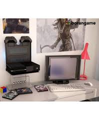 Wall Mount Laptop Desk by Borangame Gameside Game Console Horizontal Wall Mount With Led