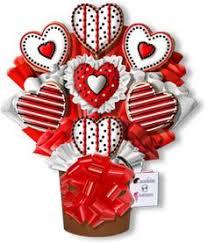 Valentines Day Decorated Cookies valentine u0027s day cookie bouquet valentine u0027s pinterest cookie