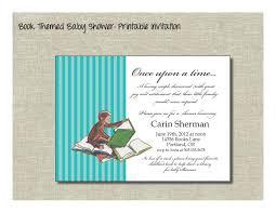 Dr Seuss Baby Shower Invitation Wording - bring a book baby shower invitations marialonghi com