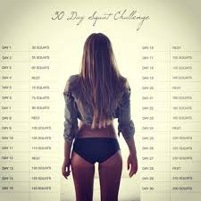 After Challenge Squat Challenge Accepted Plus Lively