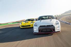 nissan gtr drag car 2015 chevrolet corvette z06 vs 2015 nissan gt r nismo comparison