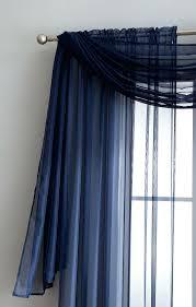 navy blue valance curtains cottage blue check curtain valances
