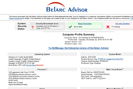 free profile finder belarc advisor v8 5c review a free system info tool