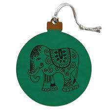wooden elephant ornaments ebay