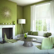 simple green living room with white carpet flooring living room