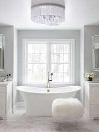 White And Gray Bathroom by Luxe Blog U2014 Luxe Interiors