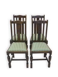 Antike Esszimmer In Eiche Stühle Stuhl Sitzmöbel Antik Historismus Um 1920 Eiche 2480 Ebay