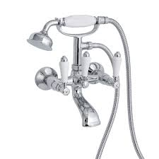 enki traditional bath filler tap wall mount shower basin tap pack