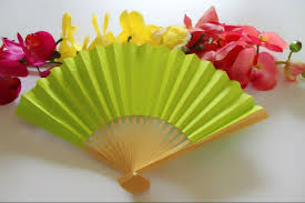 held paper fans free shipping 40pcs lot held paper fan with 11colors
