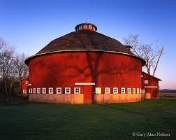 a round barn in fulton county indiana the round barn capital of