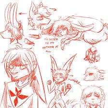 sad sketches by lionmushrooms on deviantart
