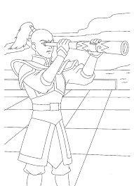coloring avatar coloring pages 5