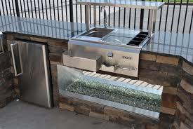 outdoor kitchen design display