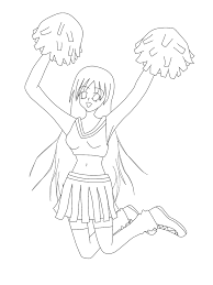cheerleader coloring pages coloring pages coloring pages coloring