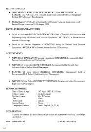 Sample Resume For Air Hostess Fresher by Download Biomedical Engineer Sample Resume Haadyaooverbayresort Com