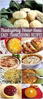 thanksgiving menu ideas dinner recipes easy for a crowd retro food