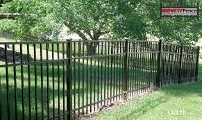 3 rail ornamental iron fences midwest fence