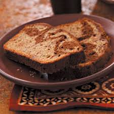 chocolate ribbon banana loaf recipe taste of home