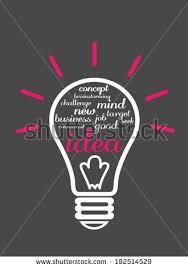 Seeking New Seeking New Ideas Stock Vector 192514529