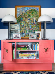 How To Make A Toy Storage Bench by Turn An Old Dresser Into Playful Toy Storage Hgtv