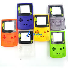 For Pokemon Pikachu Full Set Housing Case For Gameboy Color Gbc Gameboy Color